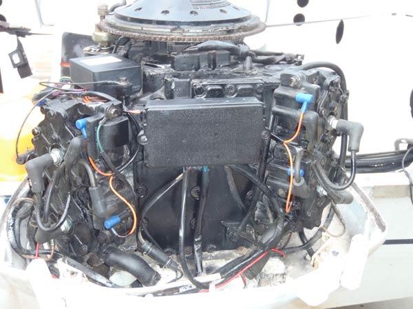 Evinrude 90 Hp Outboard Motor