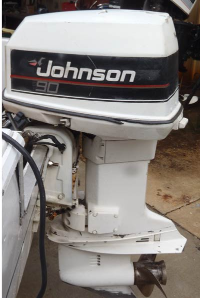 How to tell the year of a johnson outboard motor for Power trim motor for johnson outboard