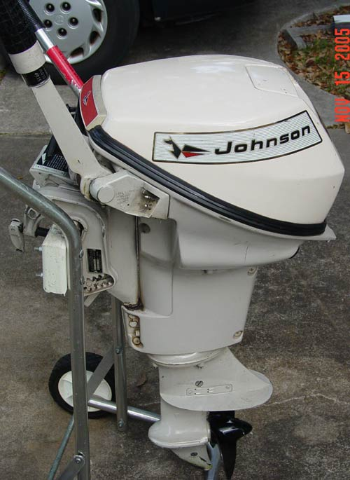 35hp Boat Johnson Motor 171 All Boats
