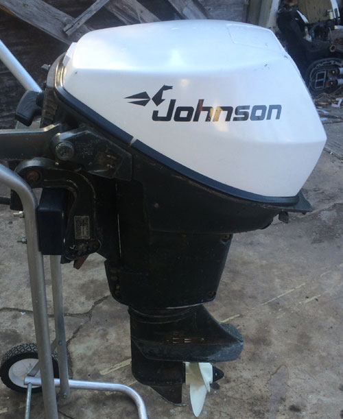 Johnson 9 5 Hp Outboard Boat Sportwin Used Johnsons Outboards