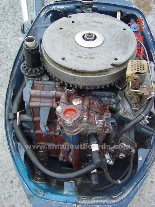 insideback Outboard Motor Diagram on