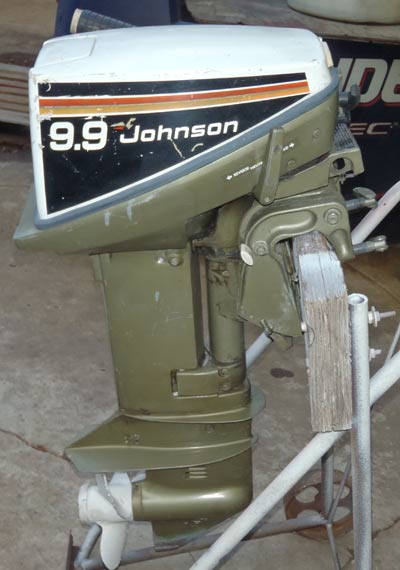 Used Engine For Sale >> 9.9hp Johnson Outboard For Sale