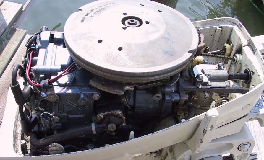 Used Johnson 9 9 Hp Long Shaft 20 Shaft Boat Motor