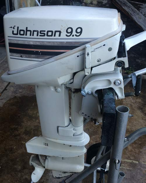 Used johnson 9 9 hp outboard boat motor for sale used for New johnson boat motors for sale