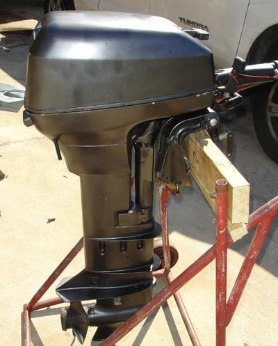 johnson long shaft outboard boat motor for sale