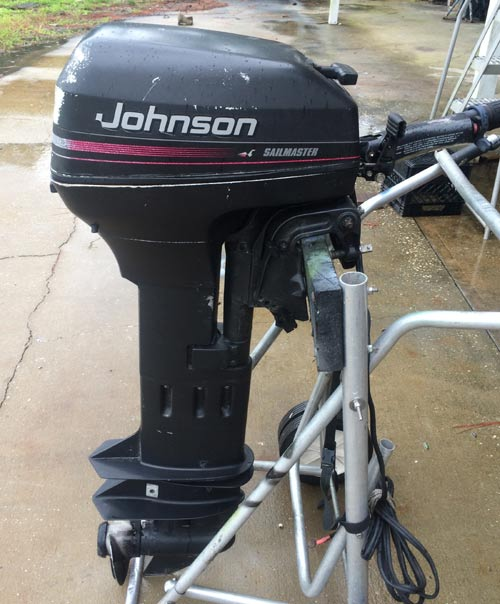9 9hp Johnson Extra Long Shaft Outboard Boat Motor For Sale