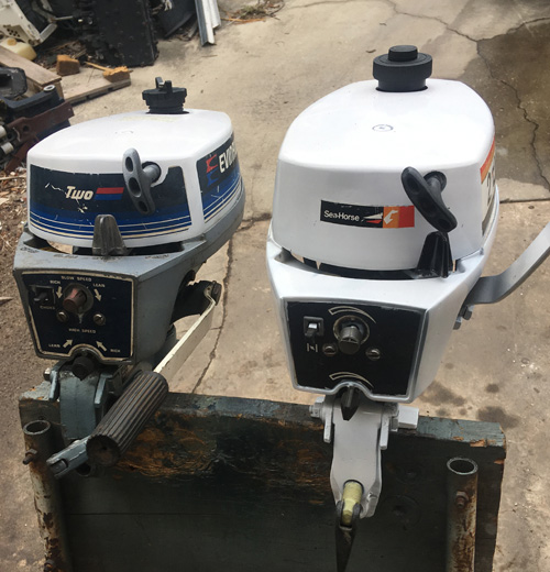 Used Small Boat Engines For Sale: Used 2hp Evinrude Outboard Motor For Sale