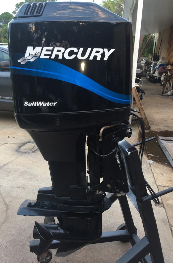 Engine For Sale >> 125 hp Mercury Outboard Boat Motor For Sale