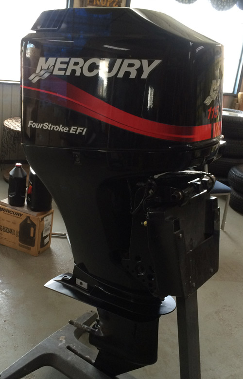 2002 115 hp mercury yamaha 4 stroke efi outboard boat for Yamaha 100 hp outboard for sale