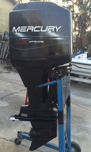 115 hp mercury outboard boat motor for sale for Used 200 hp mercury outboard motors for sale