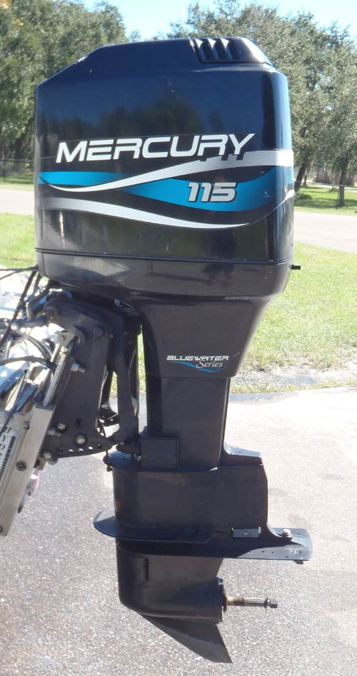 115 Hp Mercury Outboard Boat Motor For Sale