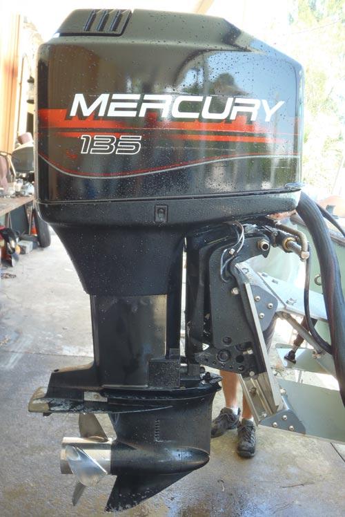 135 hp Mercury Outboard Boat Motor For Sale