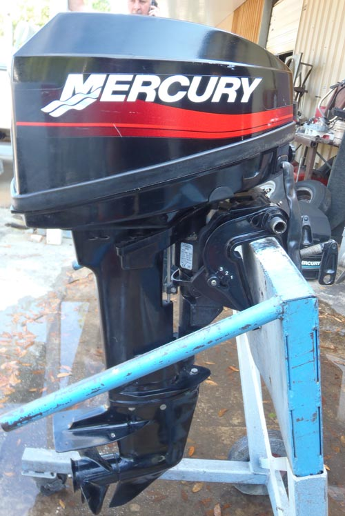 15 hp mercury electric start remote short shaft outboard for Electric outboard motors for sale