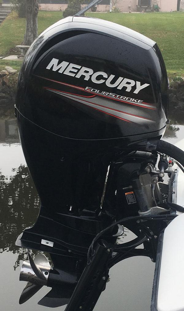2017 150 hp Mercury 4-Stroke Outboard For Sale