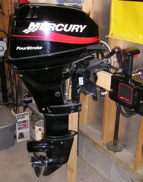 2016 Mercury 15 Hp 4 Stroke Manual