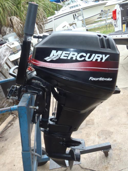 15hp Mercury 4 stroke