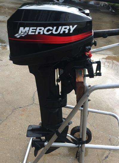 Side on 15 Hp Mercury Outboard Manual