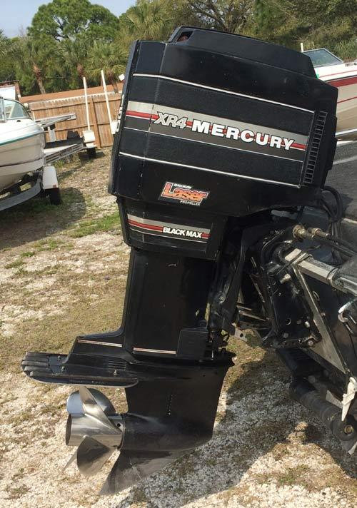 Motorsidde on 15 Hp Mercury Outboard Motor