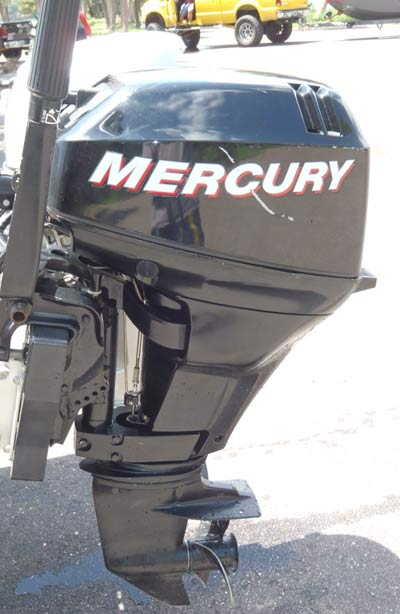 Mercury 15 Hp Outboard Boat Motor For Sale