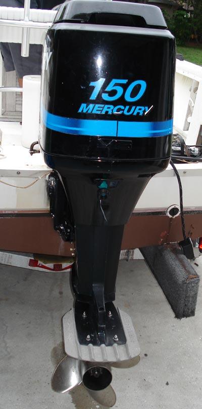 150hp Mercury Boat Motor All Boats