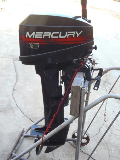 mercury outboard hp motor 15hp ship smalloutboards