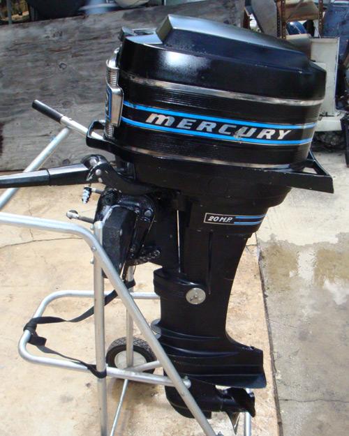 20 Hp Mercury Long Shaft Outboard