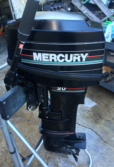 20 hp mercury outboard for sale
