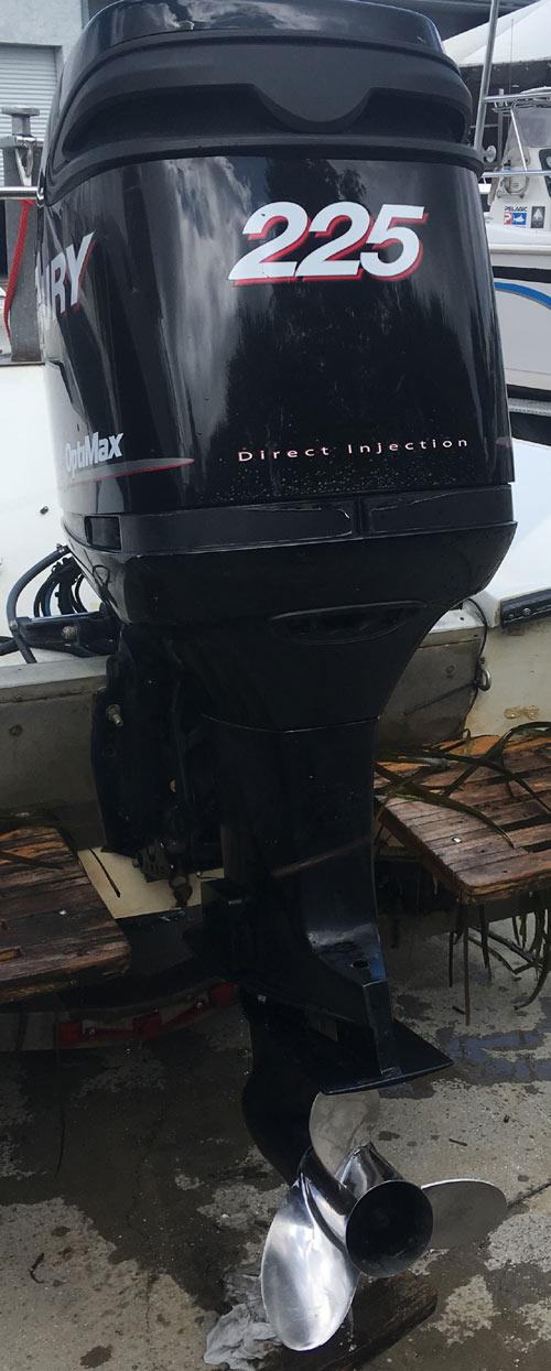 200 hp Mercury Outboard Boat Motor For Sale