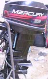2 Stroke Mercury Outboard Engine
