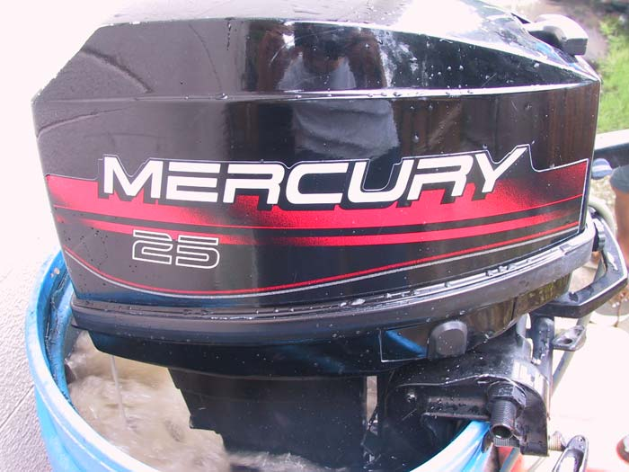 Mercury Hp Running