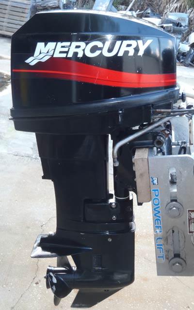 Mercury 25 Hp Outboard >> 20 hp Mercury Outboard Boat Short Shaft Remote Model Electric Start