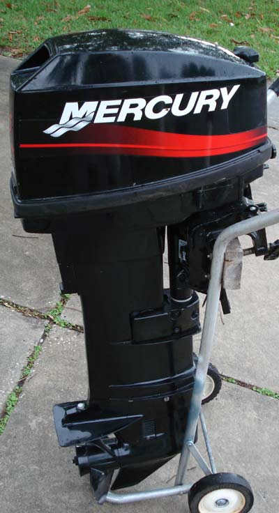 Mercury 25 Hp Remote Outboard