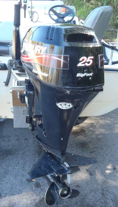 25hp Mercury Bigfoot Outboard For Sale