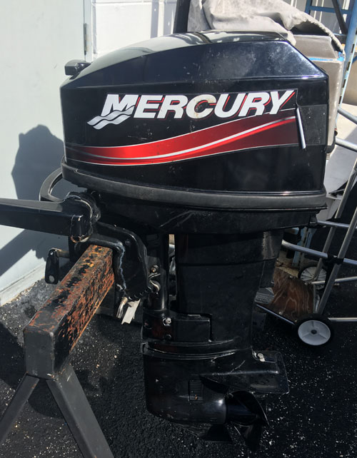 Mercury 25hp Outboard For Sale