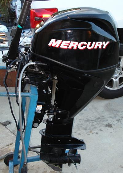 2006 Efi 4 Stroke Mercury 25 Hp Remote Outboard