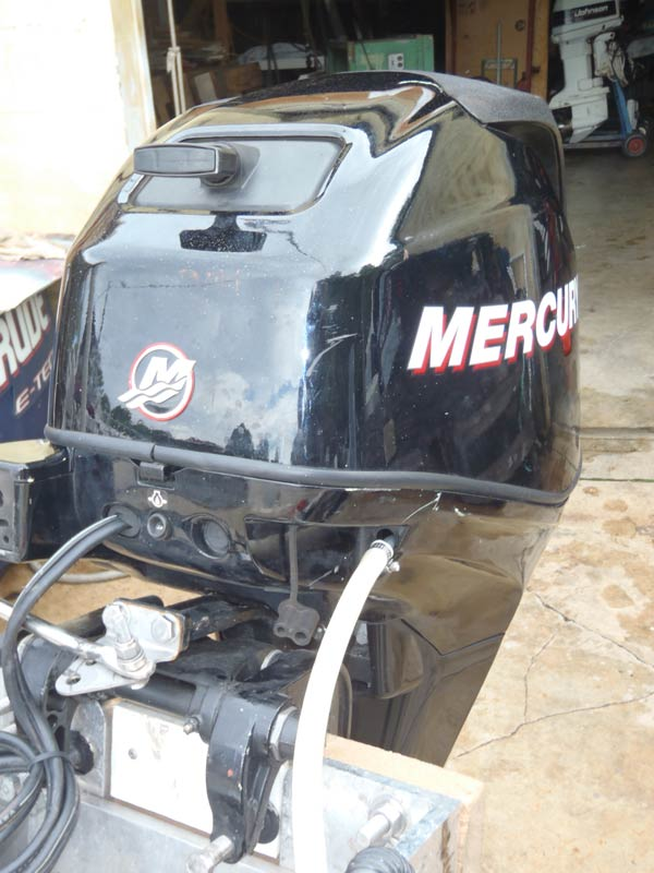 Electric Outboard Motor >> 25 hp Mercury 4 Stroke EFI Used Outboard Boat Motor For Sale.