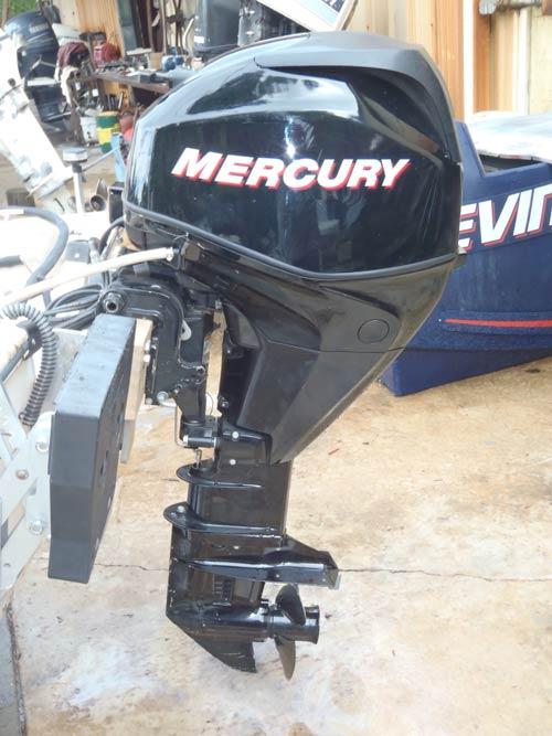 Mercury 25 Hp Outboard >> 25 hp Mercury 4 Stroke EFI Used Outboard Boat Motor For Sale.