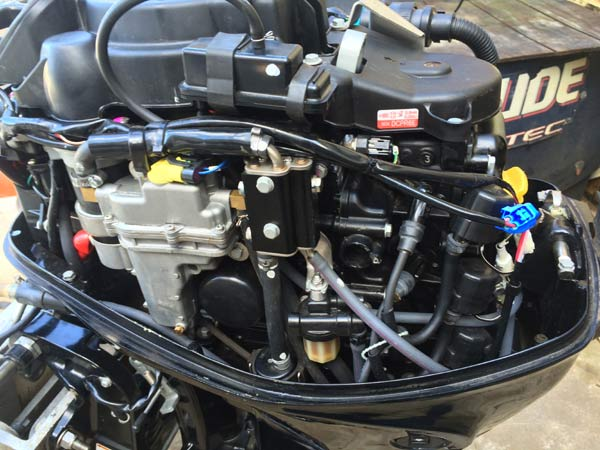 25 Hp Mercury 4 Stroke Bigfoot Outboard Boat Motor For Sale