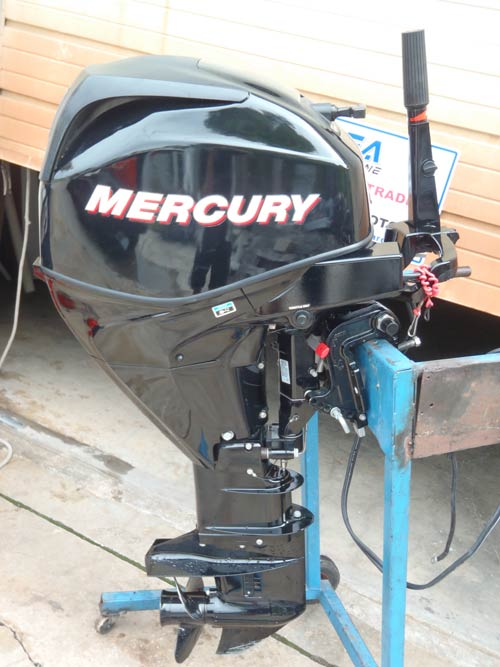 How To Clean Engine >> 2009 EFI 4 Stroke Mercury 25 hp Remote Outboard