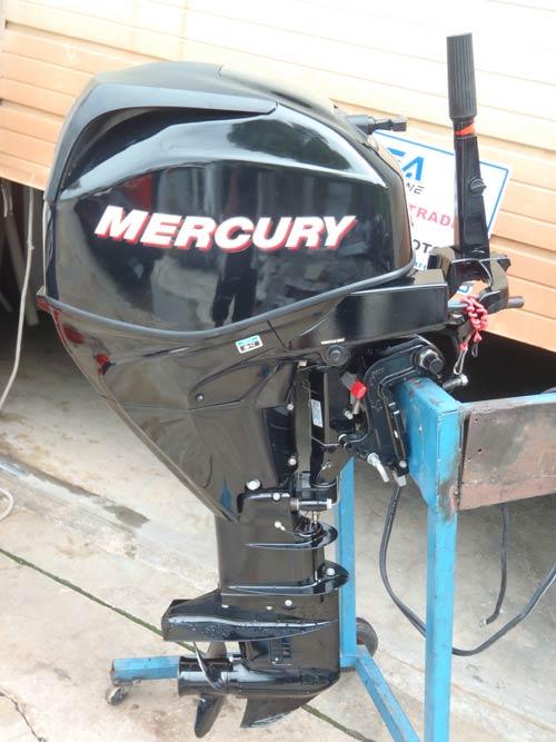 2009 Efi 4 Stroke Mercury 25 Hp Remote Outboard
