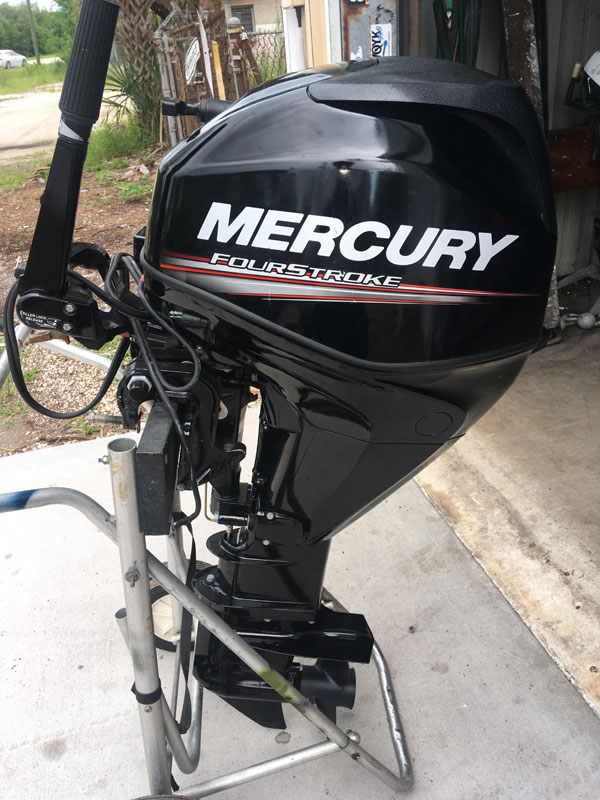 Used 25 hp Mercury 4 Stroke Outboard For Sale F25ELTP