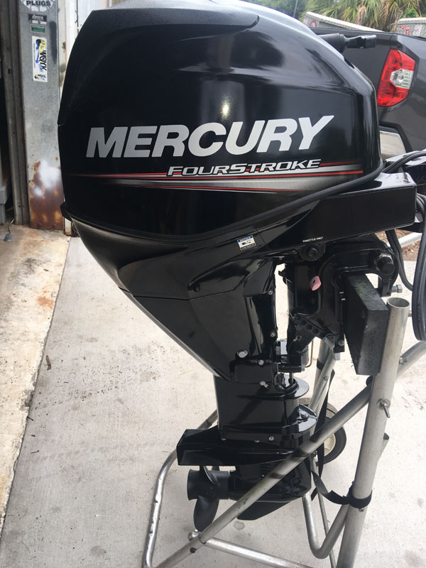 Used 25 hp Mercury 4 Stroke Outboard For Sale F25ELTP