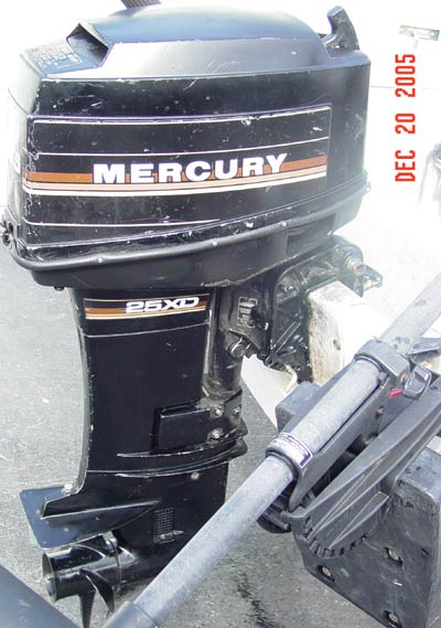 Mercury 25hp Xd Outboard For Sale