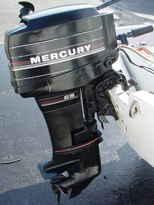 25 hp Mercury Outboard Electric Start