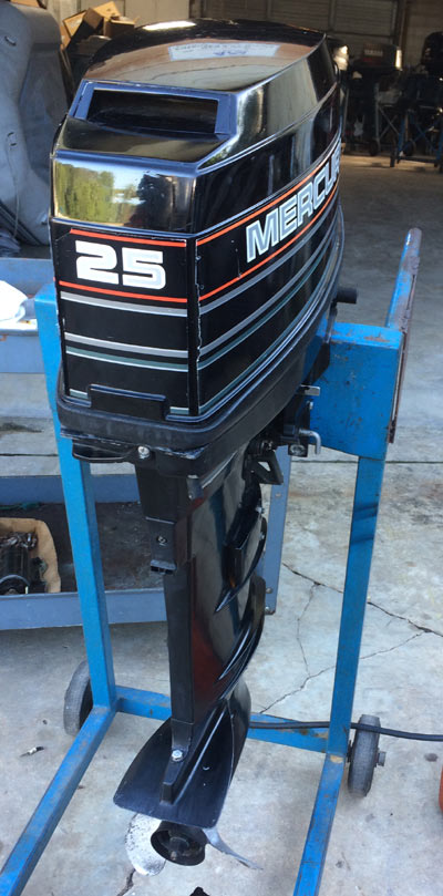 Mercury 25 Hp Outboard >> Mercury 25 hp Long Shaft Electric Start.