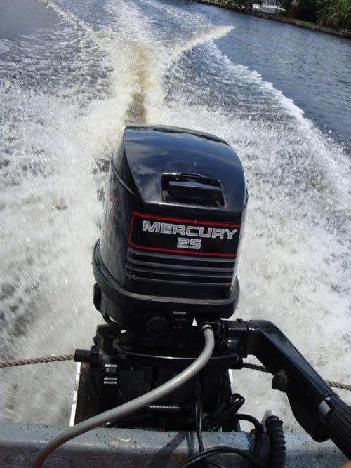 Mercury 25 Hp Outboard >> 25 hp Mercury Outboard Boat Long Shaft Electric Start