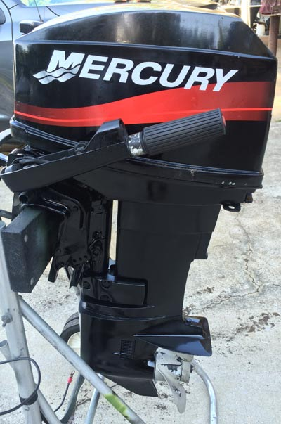 25 Hp Mercury Outboard Boat Motor For Sale