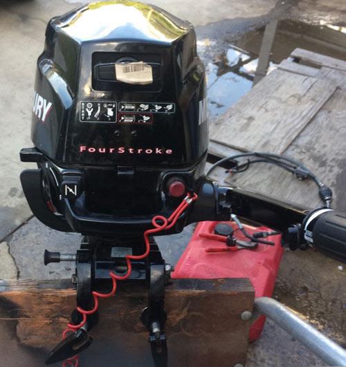 mercury 3.5 hp outboard motor