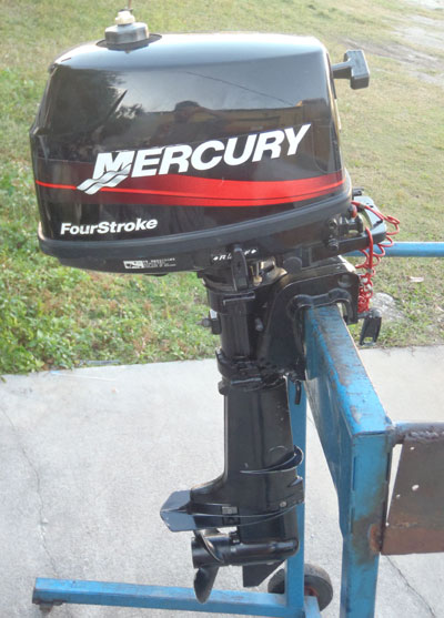 Mercury 4 Hp 4 Stroke Outboard Motor For Sale