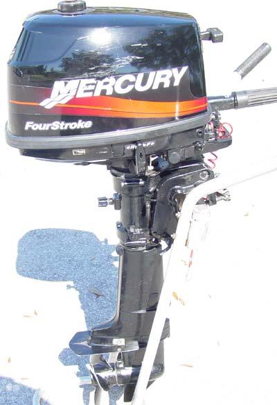 mercury 4 hp 4 stroke outboard